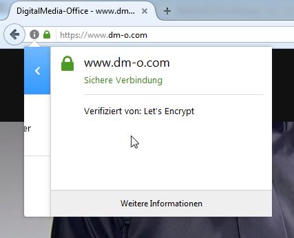 SSL-gesicherte Webseite für dein Unternehmen - DigitalMedia-Office